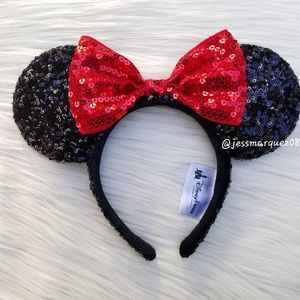 Disney Parks Classic Minnie Mouse Ears